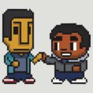 8 bit Team Trobed 2 by albertot