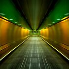 Underground Heathrow by Svetlana Sewell