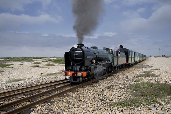 Romney, Hythe and Dymchurch Railway by Nigel Bangert