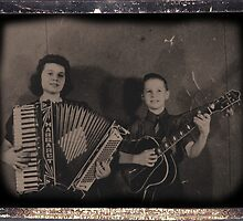 Mom and her accordian by vigor