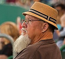 Beard, Hat and an Earring by Buckwhite