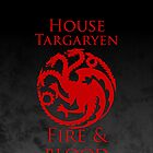 House Targaryen iPhone Case by alexandramarieg