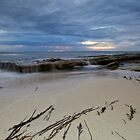 Low Tide At Redgate Beach - Western Australia by Chris Paddick