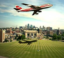 TWA Fly Over Kansas City by TeeMack