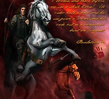 Four Horsemen of the Apocalypse by Ronald Robledo