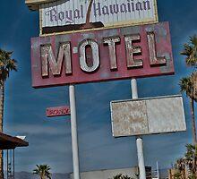 Old & Tired Motel by Monique Wajon