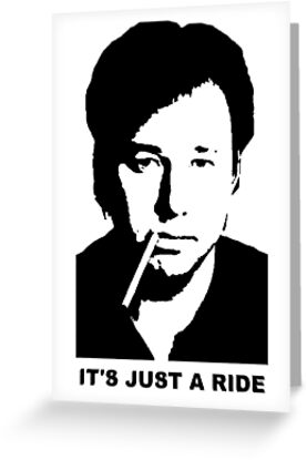 It's Just A Ride (Poster) by faircop .gov