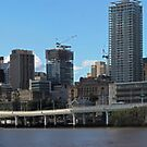 Brisbane from Southbank (P-i) by AHakir