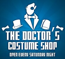 Doctor's Costume Shop by KitsuneDesigns