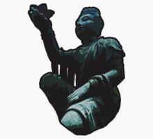 Buddha Statue by cadellin