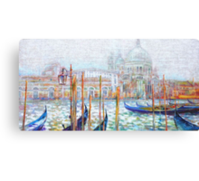 Spirit Of Venice   Canvas Print