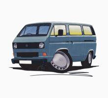 VW T25 / T3 Grey by Richard Yeomans