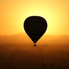Balloon over the Valley of the Kings by designed2dazzle