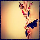 Butterfly and Flowers by SylviaS