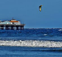 Kite Surfing #2 by Stephen Burke