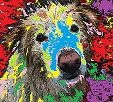 A stray dog  by adriantovnodtov