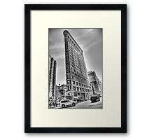 Flatiron Framed Print