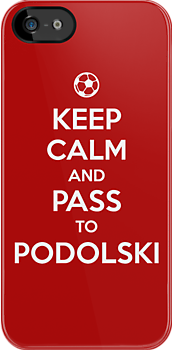 Keep Calm and Pass to Podolski  by aizo