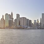 New York Wall Street Coast at Sunset by André Rizzotti