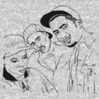 A Tribe Called Quest by philmart