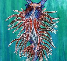 Flabellina sp. by joancaronil