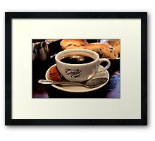 The Grand Café, Oxford - French Press Framed Print