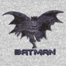 Batman Typography by Kuilz