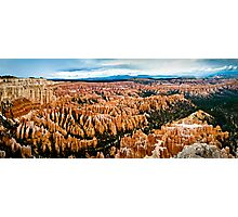 Bryce Valley - Bryce Canyon National Park, Utah Photographic Print