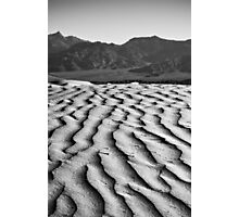 Rippled - Death Valley National Park, California Photographic Print