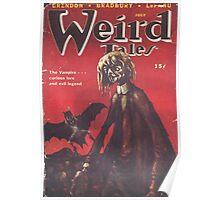 Weird Tales Magazine Poster