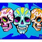 Mexi Skulls by skullbrain