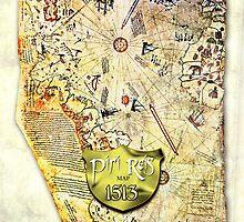 Piri Reis MAP by labelia