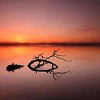 Loch Leven Sunset by Maria Gaellman