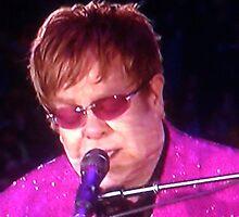 Sir Elton John by Marie Brown ©
