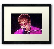Sir Elton John Framed Print