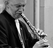 clarinet player by stevenburns4