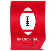 MY GRAND FINAL MINIMAL POSTER Poster