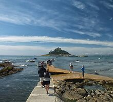 St Michael's Mount by Lloyd Hunt