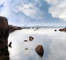 tranquil coastal kerry view by morrbyte