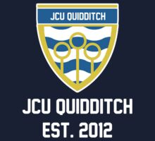 JCU Quidditch - Full Colour Logo Shirt by zbickhoff