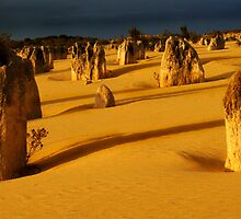 Splendor Of The Nambung by Bob Christopher
