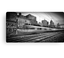 The 14:37 Rush - Melbourne Style Canvas Print