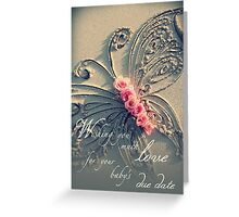 Baby's Due Date Greeting Card