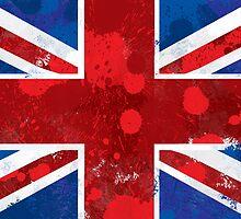 Union Jack Splatter by soapyburps