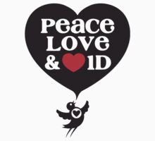 One Direction - Peace, Love & Heart 1D by Adriana Owens