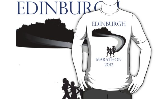 Edinburgh Marathon 2012 unofficial design by b8wsa
