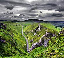 Winnats Pass Derbyshire by Darren Burroughs