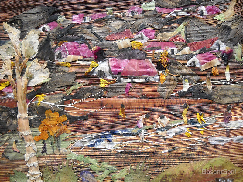 Slum On Hill by BasantSoni