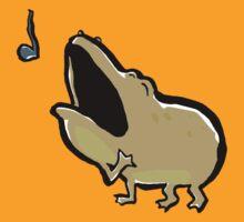 enrico, the singing frog by greendeer