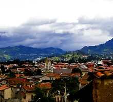 Rooftops Of Cuenca, Ecuador by Al Bourassa